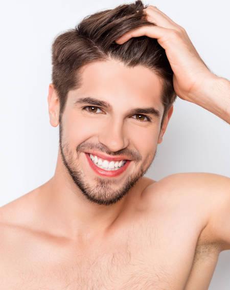 Haarausfall beim Mann - Dr. Braun de Praun Behandlungen